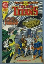 The New Titans #81 (Dec 1991, DC) War of the Gods [Deathstroke] Wolfman Swan v
