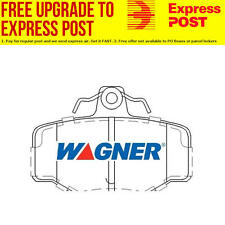 Wagner Brake Pad Set Rear DB1718WB