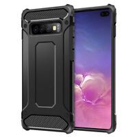 Shockproof Hybrid Protective Hard Case Cover For Samsung Galaxy S10 Plus S10e