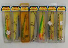 (7) Vintage Storm Pre-Rapala Thunderstick Jerkbait Fishing Lures Lot of 7