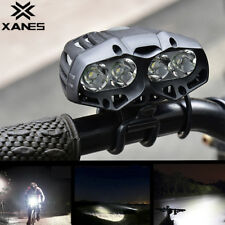22000LM 4x XML-T6 LED Bike Bicycle Cycling Front Light Headlamp Headlight 4 Mode
