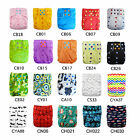 U Pick AlvaBaby Colored Snaps Onesize Reusable Cloth Diapers With Double gussets