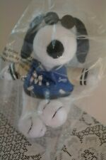 NEW Peanuts Charlie Brown Snoopy Puppy Dog MetLife Plush Stuffed Animal Doll Toy