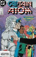 Captain Atom Comic 25 Copper Age First Print 1989 Cary Bates Weisman Broderick
