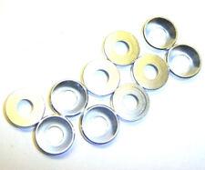 203000132 5mm M5 Argent Alliage Aluminium Rondelle en nylon 10