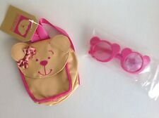 """New Design A Bear Sunglasses and Rucksack Set For 15"""" Chad Valley Designabear"""