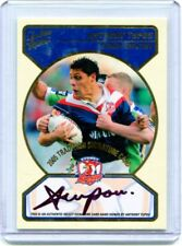2005 SELECT NRL TRADITION SIGNATURE REDEMPTION ANTHONY TUPOU #41/100