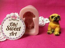 Dog Puppy I doggie Silicone Mold Food Cake Decoration soap topper Cupcake (FDA)