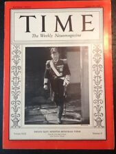 Time Magazine Japan's Navy Minister Mitsumasa Yonai cover August 30 1937 cover