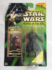 Star Wars Power of the Jedi Darth Maul final duel con accessori + MAPPA HASBRO