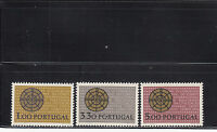 Portugal 1966 Christian Defense Sc 968-970 mint never hinged