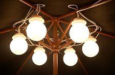 6x Gazebo Tendone Tenda Grande Da Appendere Globe Stringa Luci Giardino Illuminazione Set Nuovo