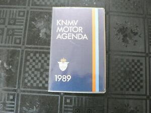 KNMV MOTOR AGENDA 1989