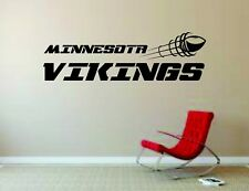 Wall Mural Vinyl Decal Sticker Decor NFL Football Rugby LogoMinnesota Vikings