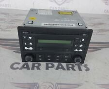 VOLKSWAGEN VW POLO MK4 HEAD UNIT STEREO RADIO CD SYSTEM RCD200 05-09