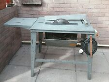 WOOD MASTER BENCH TABLE SAW