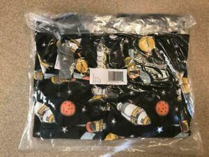 New Carter's Little Boys 1-Piece Space Fleece Footie Pajamas 6 7 8