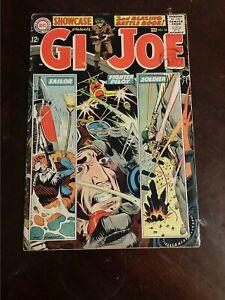 1965 DC COMICS SHOWCASE #54 VG/FN G.I. JOE BAGGED AND BOARDED SILVER AGE
