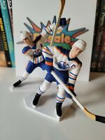NHL Hockey Figurines - Wayne Gretzky & Mark Messier - Edmonton Oilers
