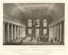 Wiesbaden-vecchia Kurhaus-vista di interni-LUNGA-ACCIAIO CHIAVE 1840