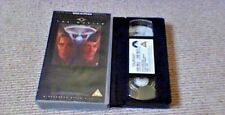 Star Trek Movies 5-6 UK PAL VHS VIDEO 1997 Widescreen 2-Film Set William Shatner