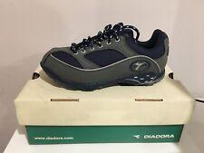 Diadora Cayman Lady Mountain shoes Size 6.5 blue gray