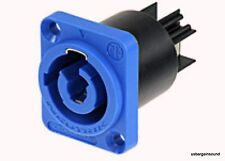 Genuine Neutrik NAC3MPA-1 Powercon Receptacle Power In.  Rated at 20A/250V (AC)