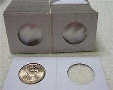 100 2x2  CARDBOAR COIN HOLDERS  PRESIDENT DOLLARS