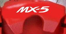 Mazda MX-5 Brake Caliper Decals (8)