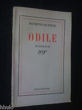 Raymond Queneau Dédicace Signé à Jean Trubert Odile E/O 1937 oulipo pataphysique