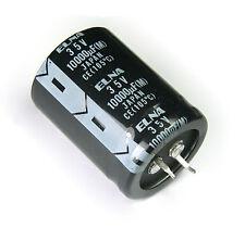 2pcs Elna 10000uF 35v 105c Radial Electrolytic Capacitor  Made in Japan