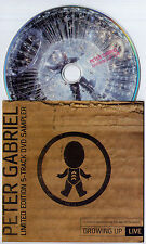 PETER GABRIEL GROWING UP LIMITED EDITION PROMO-ONLY DVD SAMPLER