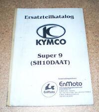 Catalogo Ricambi Kymco Super 9 (Sh 10 Daat )