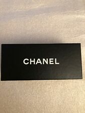 "Chanel Empty Sunglasses Box Black Authentic 7.25x3.25x3 ""Preowned,"