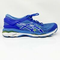 Asics Womens Gel Kayano 24 T7A5N Blue Running Shoes Lace Up Low Top Size 9.5 D