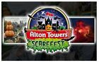 2 x Alton Tower SCAREFEST Tickets For  26/10/21 - Tuesday 26th October for Sale