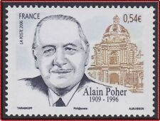 2006 FRANCE N°3994** Alain Poher HOMME POLITIQUE, France 2006 MNH