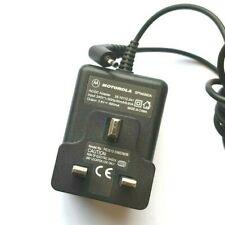 MOTOROLA AC/DC ADAPTER SPN4990A 3.6V 600mA UK PLUG