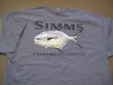 Vintage Simms Fishing Products Mike Stidham T-Shirt Size M