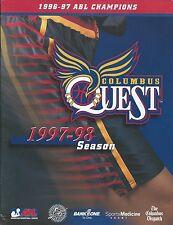 1997-98 Columbus Quest ABL Women's Basketball Program - WNBA #FWIL