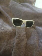 vintage rayban sunglasses 1960 made in France depose model white original lens