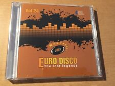 CD Euro Disco - The Lost Legends vol.24 (limited edition: only 100 copies)