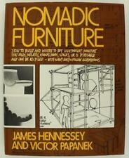 Vintage HB Book NOMANDIC FURNITURE James Hennessey Victor Papanek Pantheon 1973