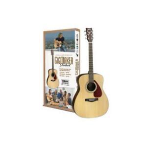 YAMAHA GIGMAKER310 accoustic guitar pack Strings Strap Picks Gig bag & DVD