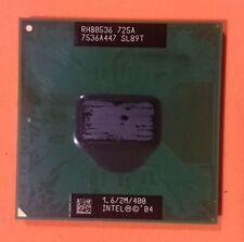 Procesador Intel Pentium M Portátil CPU 725A SL89T 1.6 GHz 2MB 400MHz