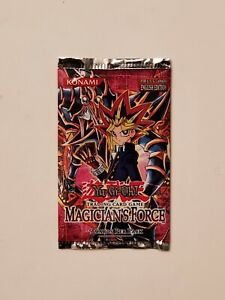 YU-GI-OH MAGICIAN'S FORCE FACTORY SEALED ENGLISH EDITION FOIL PACK