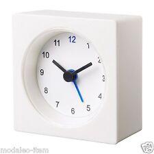 New Original IKEA VÄCKIS Polypropylene Plastic White Alarm Clock VACKIS-B111