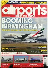 Airports of the World May June 2016 Booming Birmingham Catania  FREE SHIPPING sb