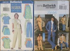 Lot of 2 Misses Butterick Separates Sewing Patterns Uncut sizes 8-10-12
