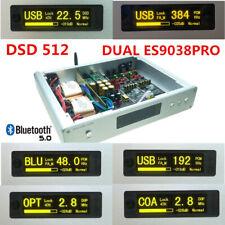 DUAL ES9038PRO DSD DAC Decoder +amanero USB +CSR8675 Bluetooth5.0 HIFI AUDIO